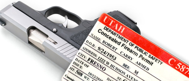 How to Get a Utah Concealed Firearm Permit
